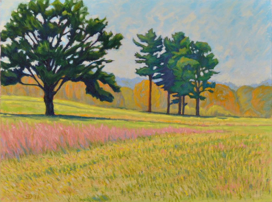 painting, Autumn Field